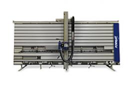 Vertikālā ripzāģmašīna, vertikālais zāģis, vertikālā zāģēšanas iekārta, iekārta vertikālai plātņu zāģēšanai, vert zāģis, vertikālais ripzāģis